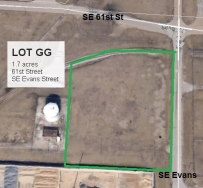 Lot GG Land Parcel at Topeka Regional Business Center