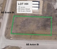 Lot HH Land Parcel at Topeka Regional Business Center