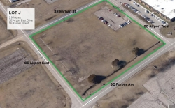 Lot J Land Parcel at Topeka Regional Business Center