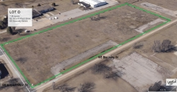 Lot O Land Parcel at Topeka Regional Business Center