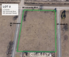 Lot U Land Parcel at Topeka Regional Business Center