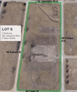 Lot S Land Parcel at Topeka Regional Business Center