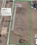 Lot Y Land Parcel at Topeka Regional Business Center