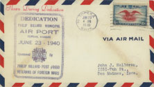 Air Mail Letter from 1940
